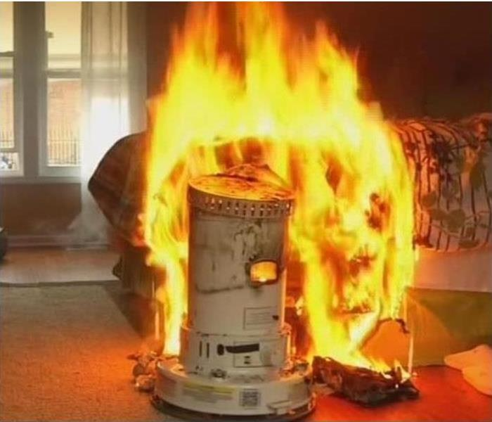 Warm up the safe way this winter to avoid a fire!