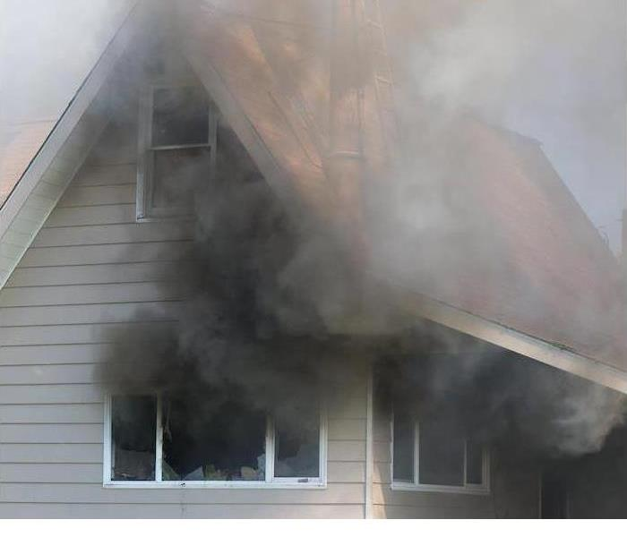 You can count on SERVPRO to restore your home after a fire!